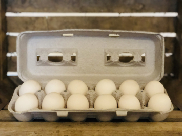 Small Duck Pullet Eggs (soy-free)