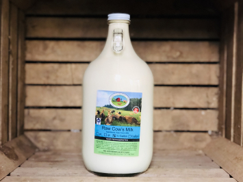 A2 Milk, 1/2 gallon (Glass)