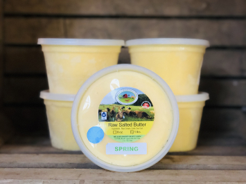 100% Spring Grass Salted A2 Butter, 5lb