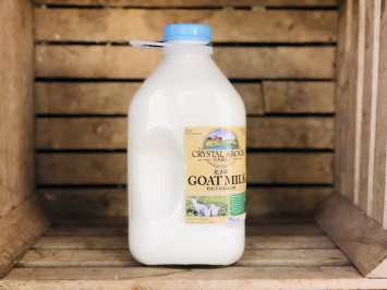 Goat Milk, 1/2 gallon (Glass)