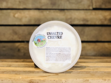 Unsalted Plain Goat Chevre, 8oz