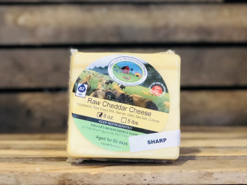 Sharp A2 Cheddar Cheese, 8oz