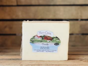 8oz Raw Goat Gouda Cheese