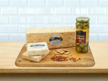 8oz Goat Monterey Hot Jack Cheese