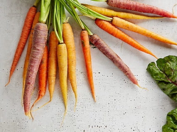 1lb - Rainbow Baby Carrots