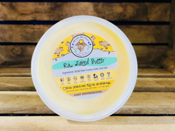 1lb Raw Salted A2 Spring Butter