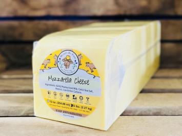 Big A2 Mozzarella Pressed Cheese Block