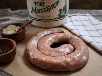 10 pack - Maple Pork Rope Sausage