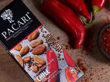 Chili Organic Chocolate Bar