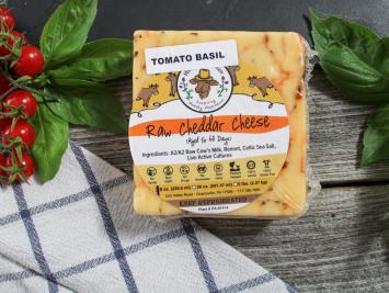20oz Raw Tomato Basil A2 Cheddar Cheese