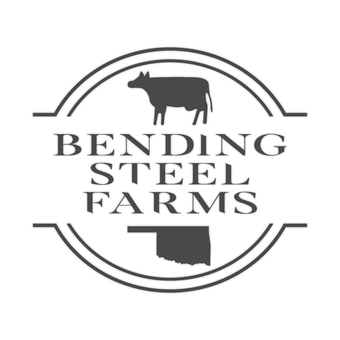 BENDING STEEL FARMS Logo