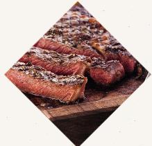 Steak, Sirloin with Balsamic Glaze