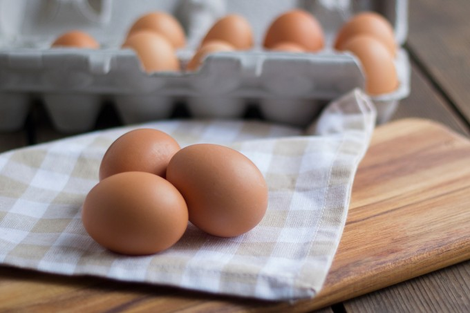 Eggs, Dozen Grade A Medium Pasture-Raised, GMO Free