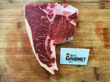 "T-Bone Steak Cut 1.25"" Thick"