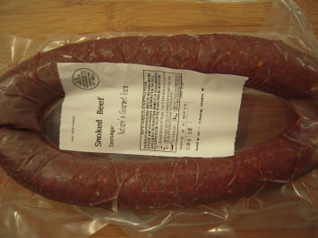 Smoked Sausage - Made With Beef