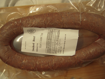 Smoked Andouille Sausage - Made With Beef