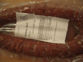 Smoked Chorizo - Sausage Made With Beef