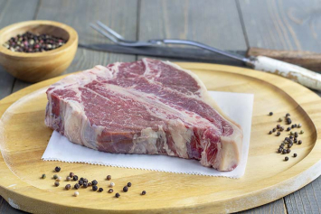 "Porterhouse Steak Cut 1.5"" Thick"