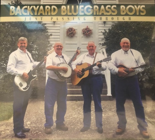 Backyard Bluegrass Boys - Just Passing Through CD