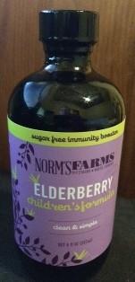 Elderberry Wellness Syrup- Children's Formula