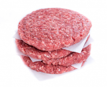 Beef Hamburger Patties- 10 lb bundle