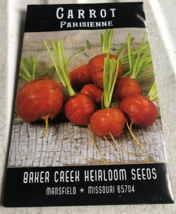 Carrot Parisienne Seeds