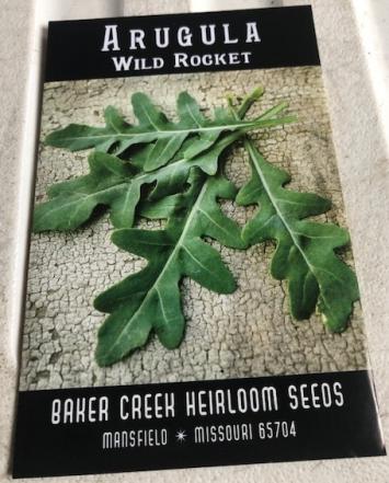 Arugula - Wild Rocket Seeds