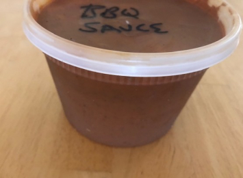 Everything But the Kitchen Sink BBQ Sauce