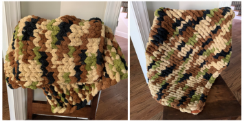Camo Blanket- Small