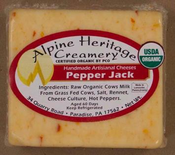 Hot Pepper Jack Cheese, Block