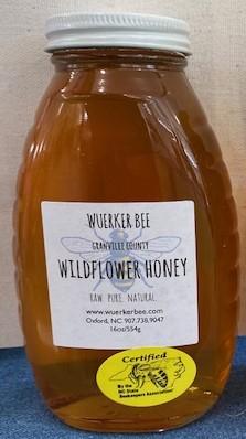 Wildflower Honey - 1/2 Pound (Local)