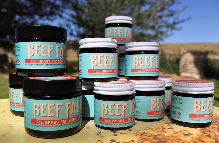 Beef Face - 1 oz Lemongrass Body Balm