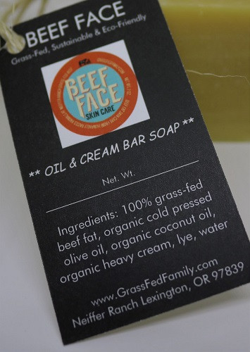 Beef Face - Oil & Cream Handmade Bar Soap
