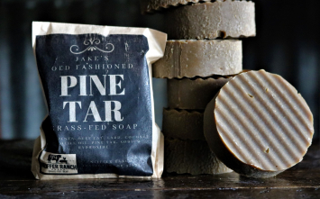 Jake's Old Fashioned Pine Tar Soap