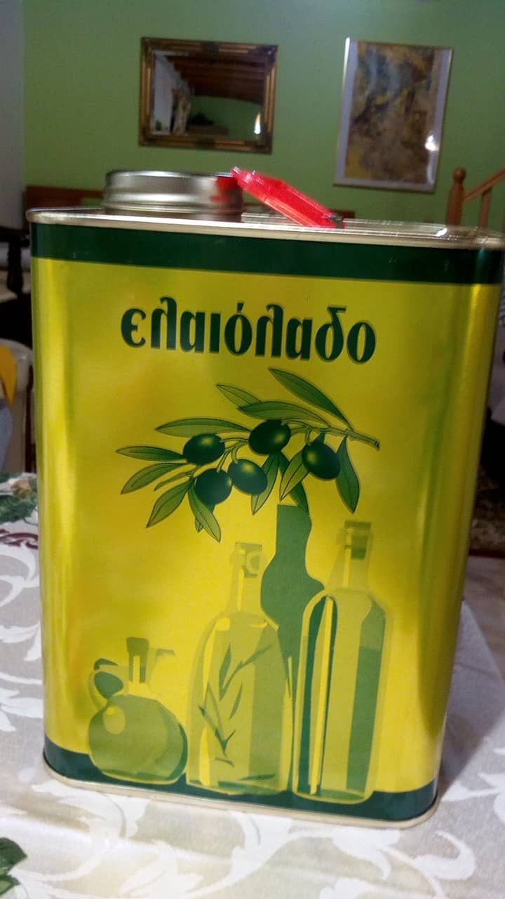 100% Pure Greek Koroneiki Olive Oil