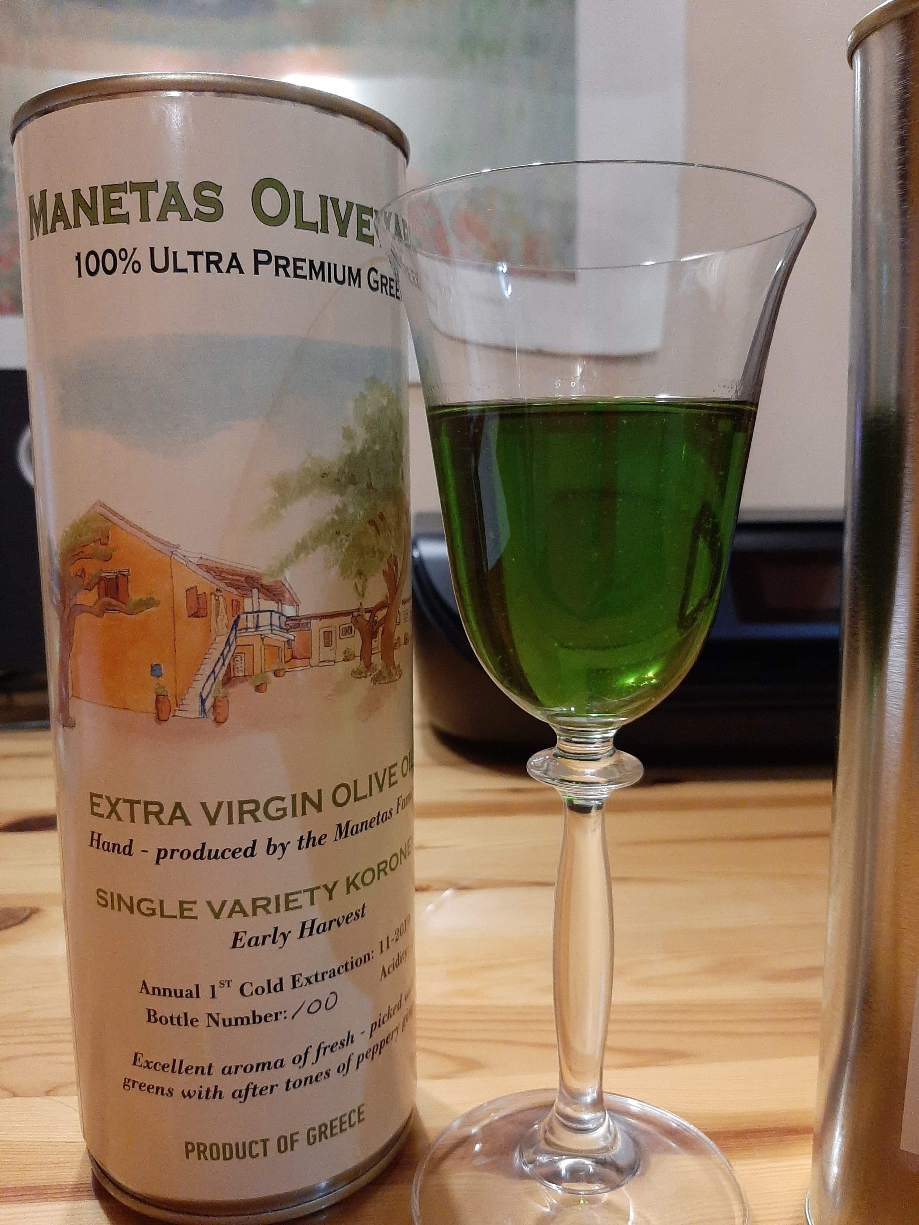 1L - EVOO 2019 - 100% Pure Greek Koroneiki Olive Oil