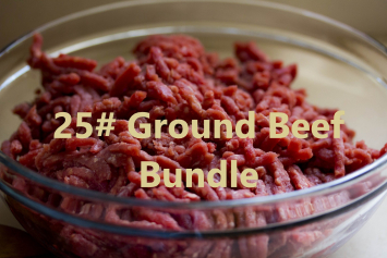 25# Ground Beef Bundle