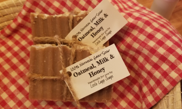 Goat Milk Soap (Oatmeal, Milk & Honey)