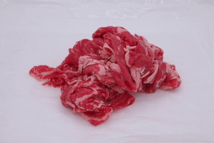 030 Beef Stir Fry 牛コマ 300g (10.5 oz)