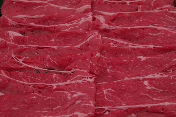 043 Beef Slice AA 牛中肉AA 300g (10.5 oz)