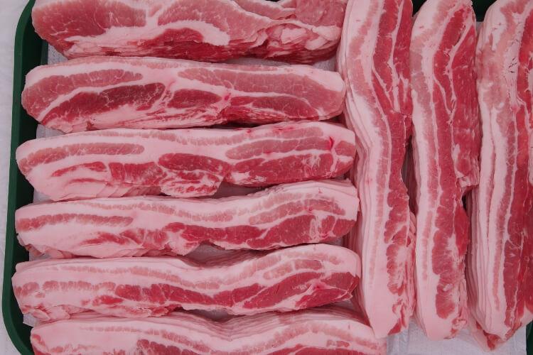 147 Barley Fed Pork Belly Slice 大麦豚三枚肉 300g (10.5 oz)
