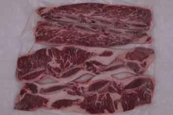 055 Beef Short Rib AAA 霜降骨付カルビAAA Avg 500g (1.1 lbs) Frozen
