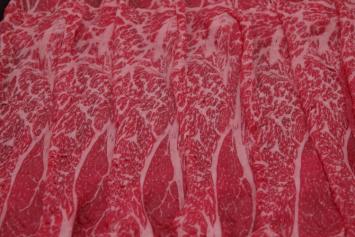 124 Premium Wagyu Slice-Thin (US) 特選和牛薄切 (薄) (米国) 300g (10.5 oz)