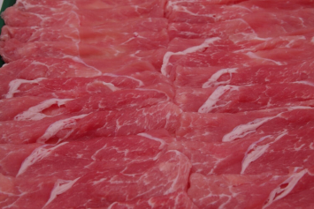 144 Barley Fed Pork Leg Slice 大麦豚モモ肉 300g (10.5 oz)