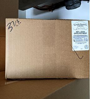 Ground Beef 85% Lean Wholesale Box