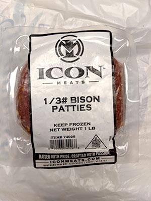 Ground Bison Patties