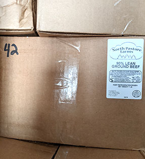 Ground Beef 90% Lean Wholesale Box