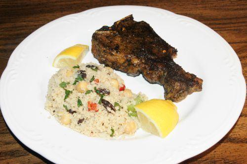 Moroccan Rub Loin Chops