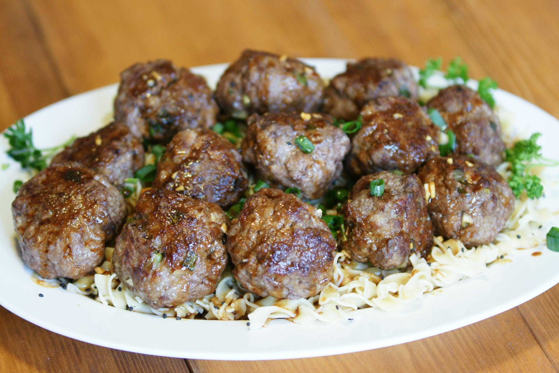 Asian Power Blend Meatballs