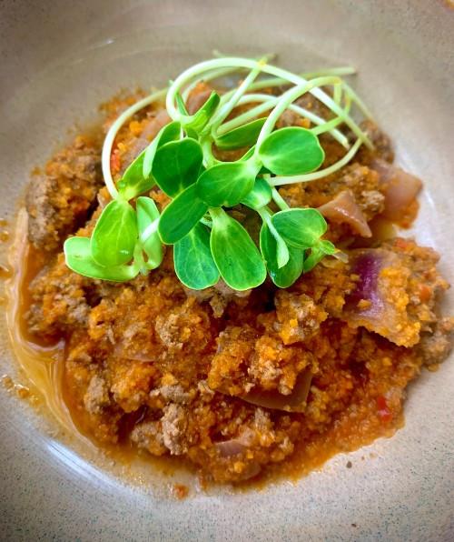 Tomato-Free & Guilt-Free Pasta